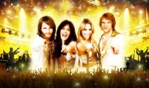 Spektakulär julshow med ABBA tema