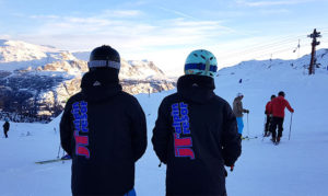 Ta skidbussen till Norge